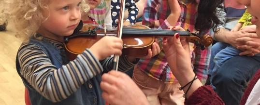 Musik Kids zu Besuch beim WDR Sinfonieorchester in der Philharmonie