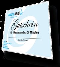 Musikschule Köln - Gutschein Probestunde